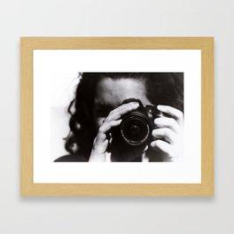 click click Framed Art Print