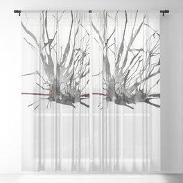 My Schizophrenia (2) Sheer Curtain