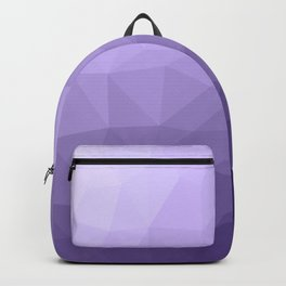 Ultra violet purple geometric mesh Backpack