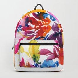 watercolor bouquet N.3 Backpack
