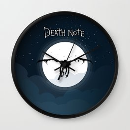 The god of death Wall Clock