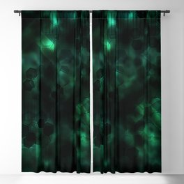 Digital Forest Cool Variant Blackout Curtain