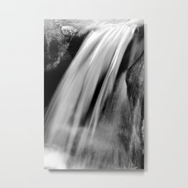 Waterfall, long exposure Metal Print