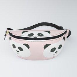 Panda Love -Pink Fanny Pack
