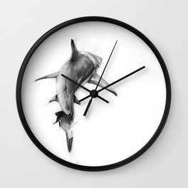 Shark II Wall Clock