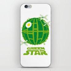 Green Star iPhone & iPod Skin