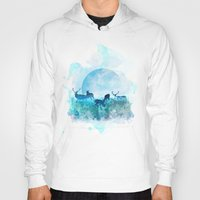 twilight Hoodies featuring Twilight by Lynette Sherrard Illustration and Design