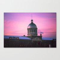 montreal Canvas Prints featuring Montreal  by Xbird