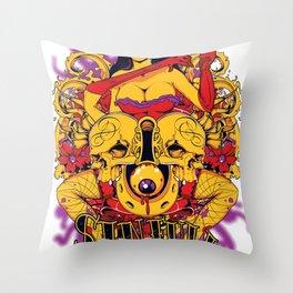 Sinful rockabilly  Throw Pillow