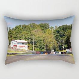 Eighth-Mile Track Rectangular Pillow