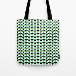 Sweethearts green #hatetolove Tote Bag