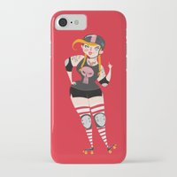 roller derby iPhone & iPod Cases featuring Roller Derby by Martin Corba - Hadoland