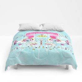 Dream Big Unicorn Carousel Comforters
