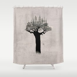TREEHOUSE N.2 Shower Curtain