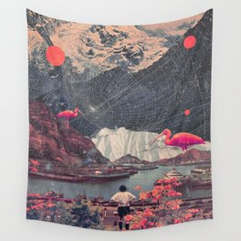 My Choices left me Alone Wall Tapestry
