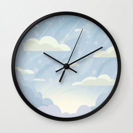 Winter Morning Wall Clock