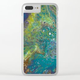 Time to Breathe Clear iPhone Case