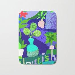 Flourishing Garden Bath Mat