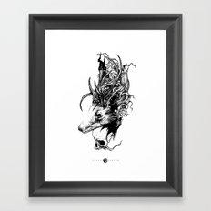 Giron Framed Art Print