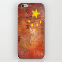 china iPhone & iPod Skins featuring China by Arken25