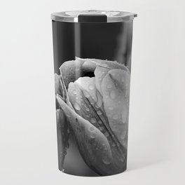 Tulips In Drops Travel Mug