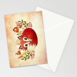 Lazy Foxy Stationery Cards