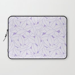 Leaves in Lavender Laptop Sleeve