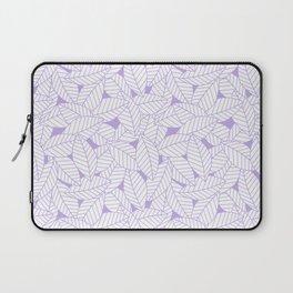 Leaves in Lavender Laptop Sleeve