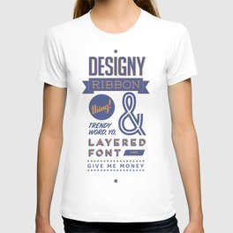 Designy Poster T-shirt