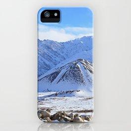 Beautiful Winter Season Landscape iPhone Case