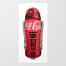 R2 Cola Art Print