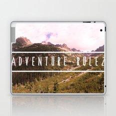 Adventure rulez Laptop & iPad Skin