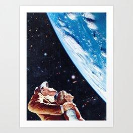 Father Son Bonding Art Print