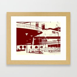 Bridge 19 Framed Art Print