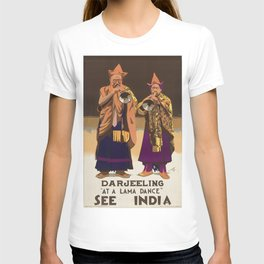 Vintage poster - India T-shirt