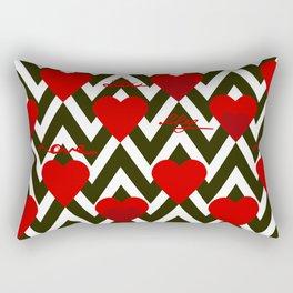 With love. Rectangular Pillow