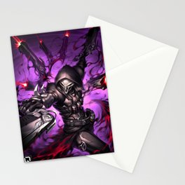 reaper over Stationery Cards