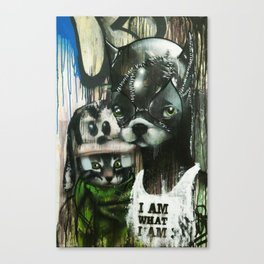 they call us the maladjusted Canvas Print