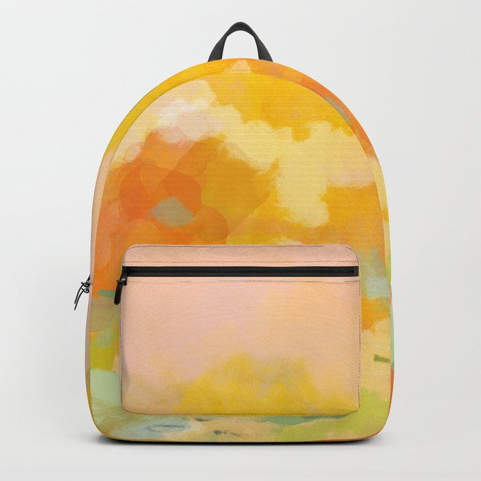 abstract spring sun Backpack