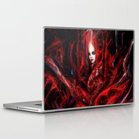 witchcraft Laptop & iPad Skins featuring Witchcraft by Gyossaith