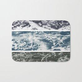 SaltWater Tryptych Variation II Bath Mat