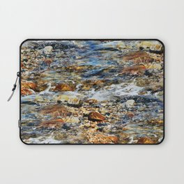 Peaceful Soothing Waters Laptop Sleeve