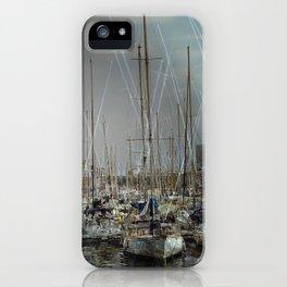 Port de Barcelona iPhone Case