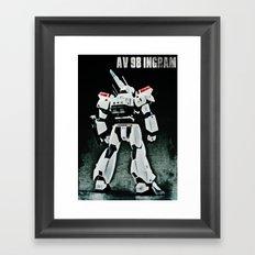 AV 98 Ingram Framed Art Print