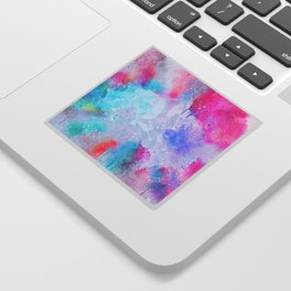 Abstract Watercolor paint Sticker