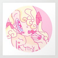 Lollipop Redux  Art Print