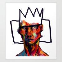 The King of Clowns Art Print