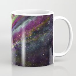 Unicorn Head Galaxy Coffee Mug