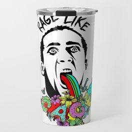 Rage Like Cage Travel Mug