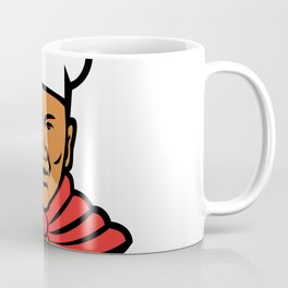 African American Baker Chef Cook Mascot Coffee Mug